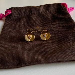 Kate Spade Disco Pansy Stud Earrings
